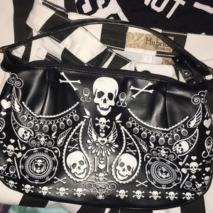 Loungefly Skull Handbag New